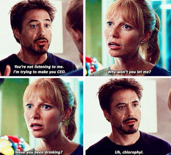Hahaha only Tony