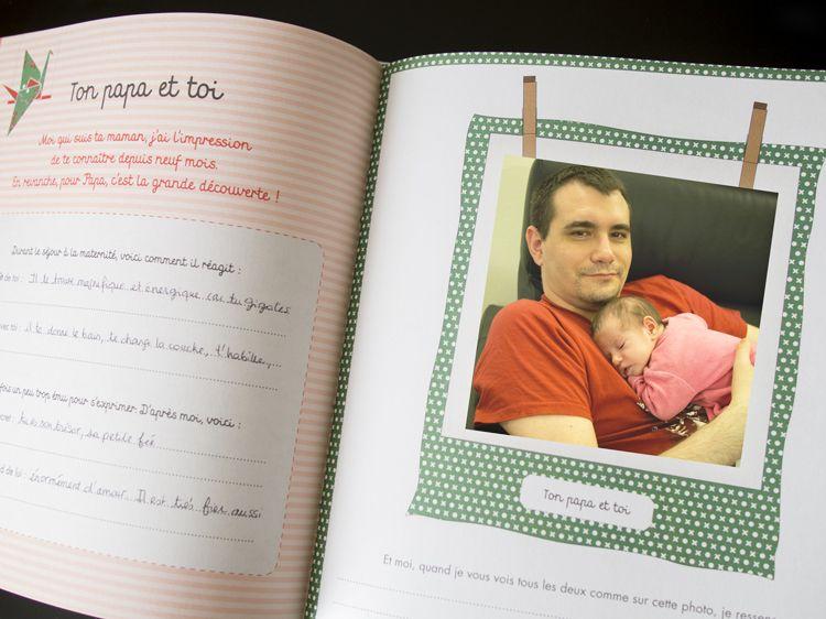 Un Beau Livre De Naissance Scrapbooking Scrapbook Et Books