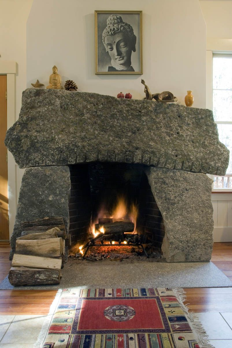 Fireplace And Chimney With Images Fireplace Custom Stone