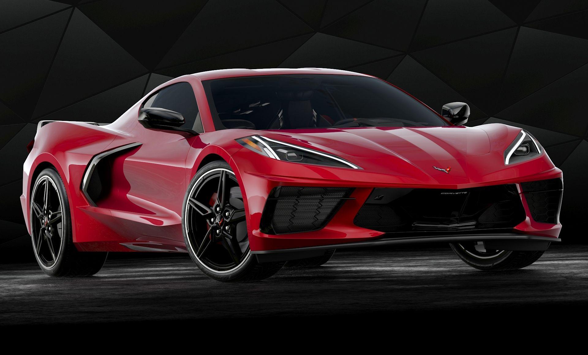 High Detailed 3d Model Of 2020 Chevrolet Corvette C8 Stingray With Interior En 2020 Con Imagenes Autos
