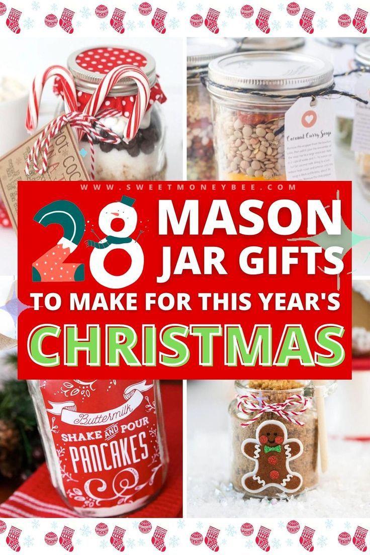 25 Best Diy Mason Jar Christmas Gifts Sweet Money Bee Mason Jar Christmas Gifts Mason Jar Gifts Christmas Mason Jars Diy