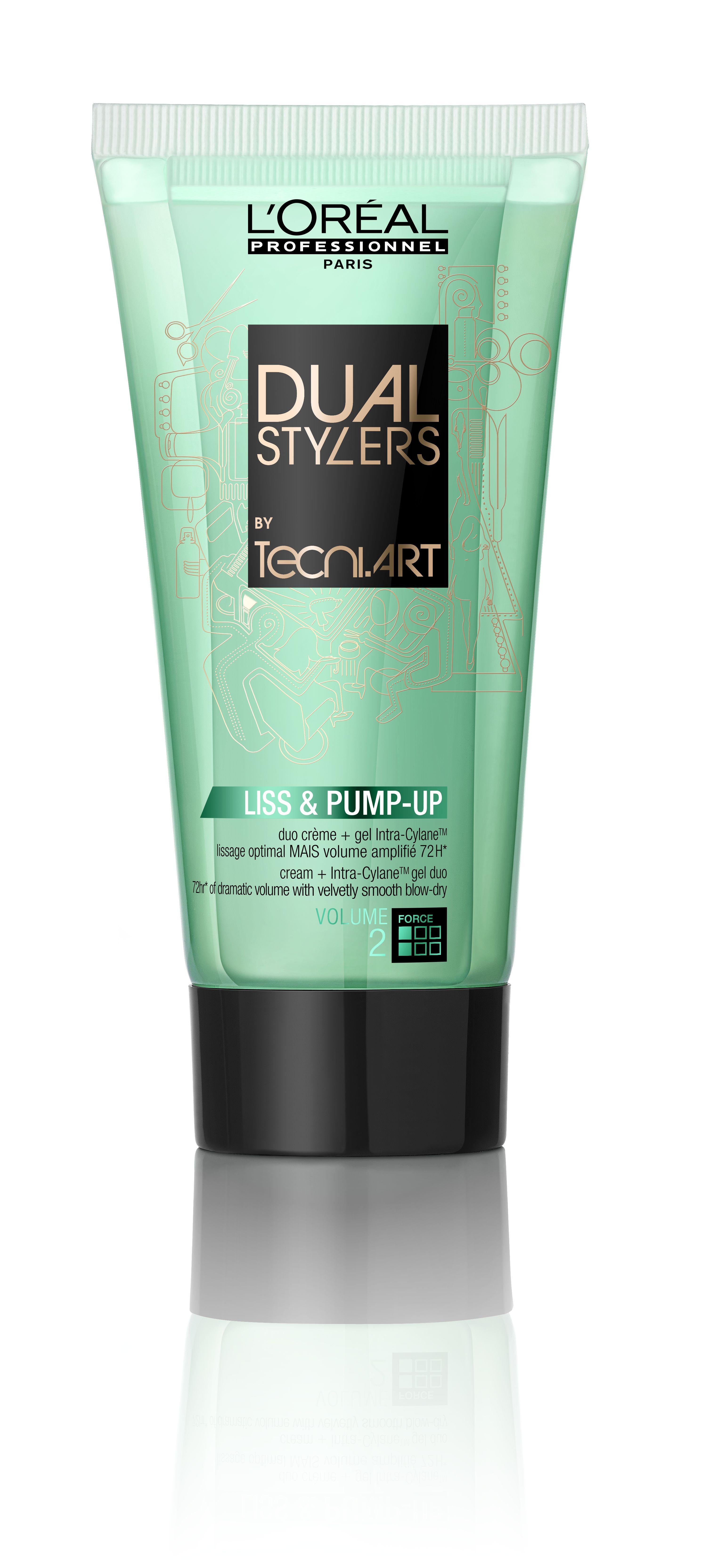 L'Oréal Professionnel Tecni.ART Dual Stylers Liss & Pump-Up 150ml.