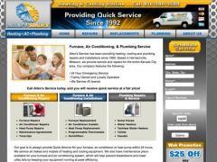 Hvac Website Design Portfolio Web Design Website Design Web Design