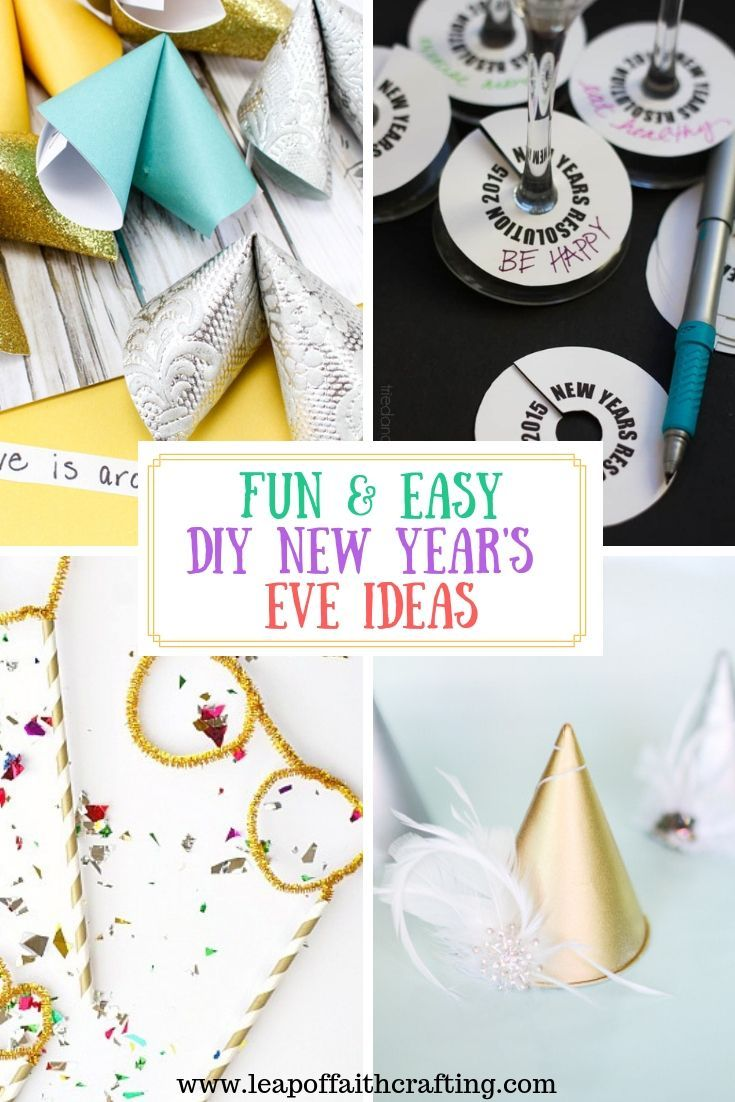 Need some easy and quick DIY New Years Eve party ideas?? Check out this list of how to make your party sparkle and grab some printables! #newyears #nye #partyideas