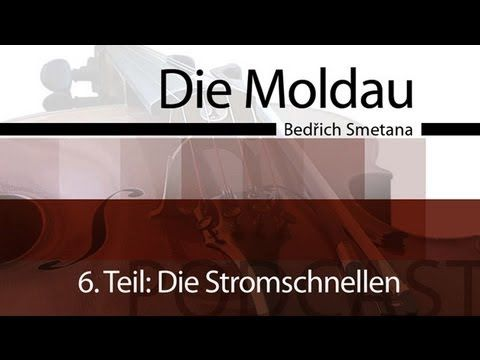 Die Moldau - Podcast & Unterrichtsidee - Die Stromschnellen