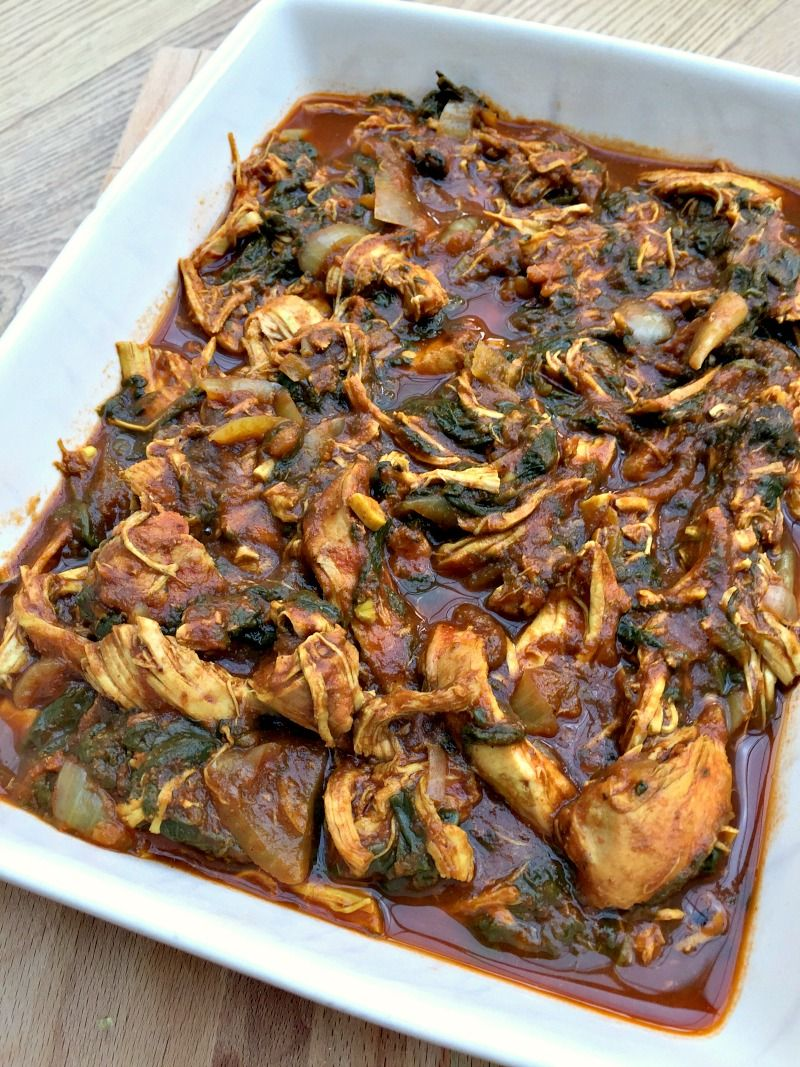 Slow cooker chicken saag curry menu pinterest saag slow slow cooker chicken saag curry forumfinder Images