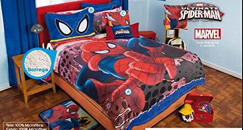 Spiderman Softy Comforter And Sheet Set Full Only 162