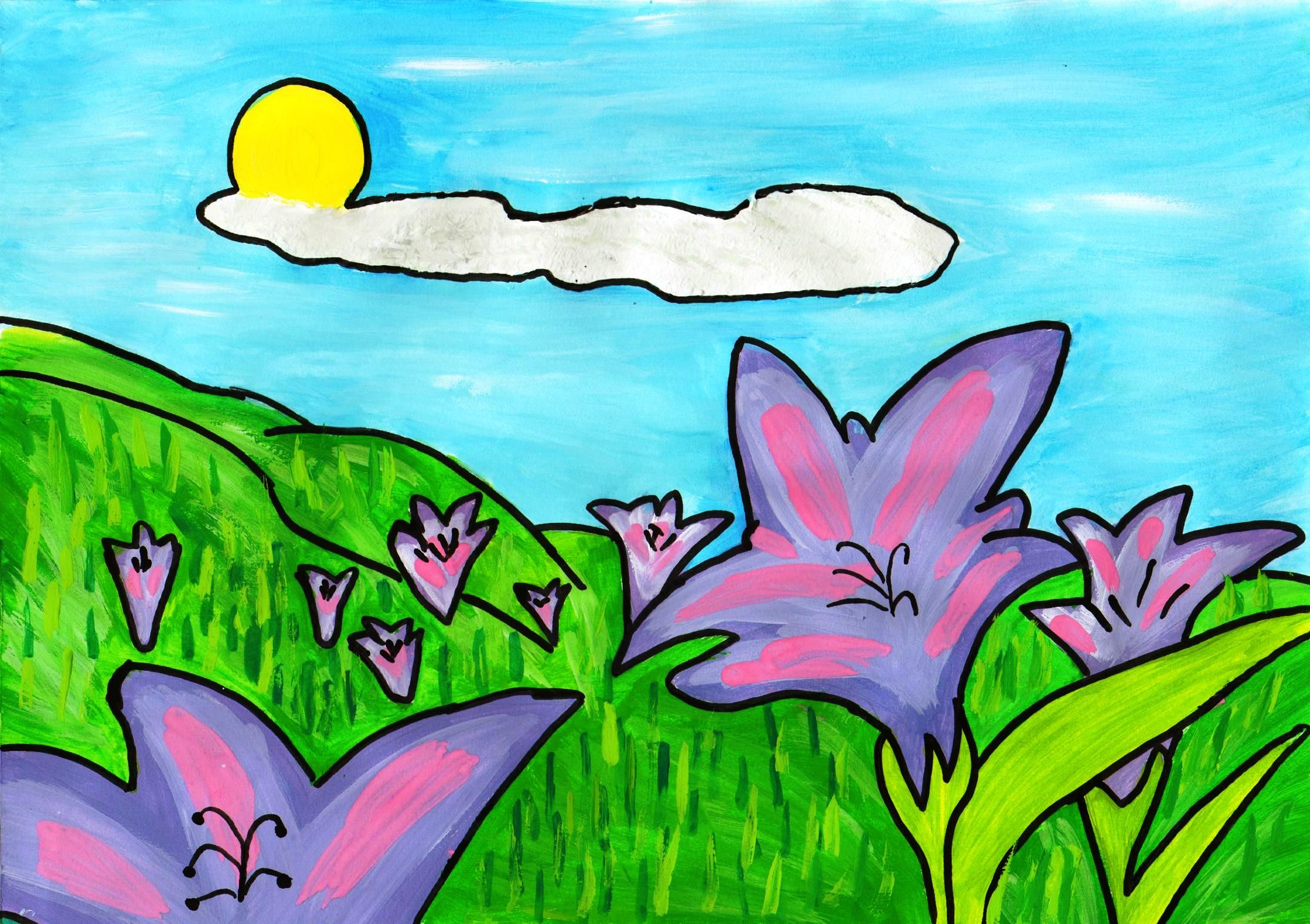 Desene De Colorat Flori Year Of Clean Water
