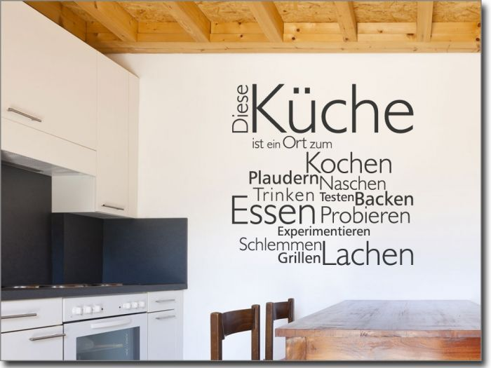 Wandtattoo Diese Küche | Wandtatoo | Pinterest | Wandtattoo, Küche ...