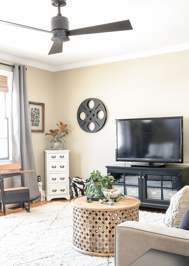Our New Sleek And Modern Ceiling Fan Hometalk Diy