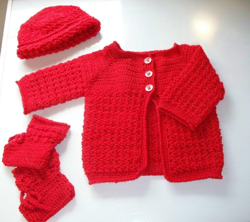 Free+Crochet+Baby+Layette+Patterns | Baby Crochet Layettes | Crochet ...
