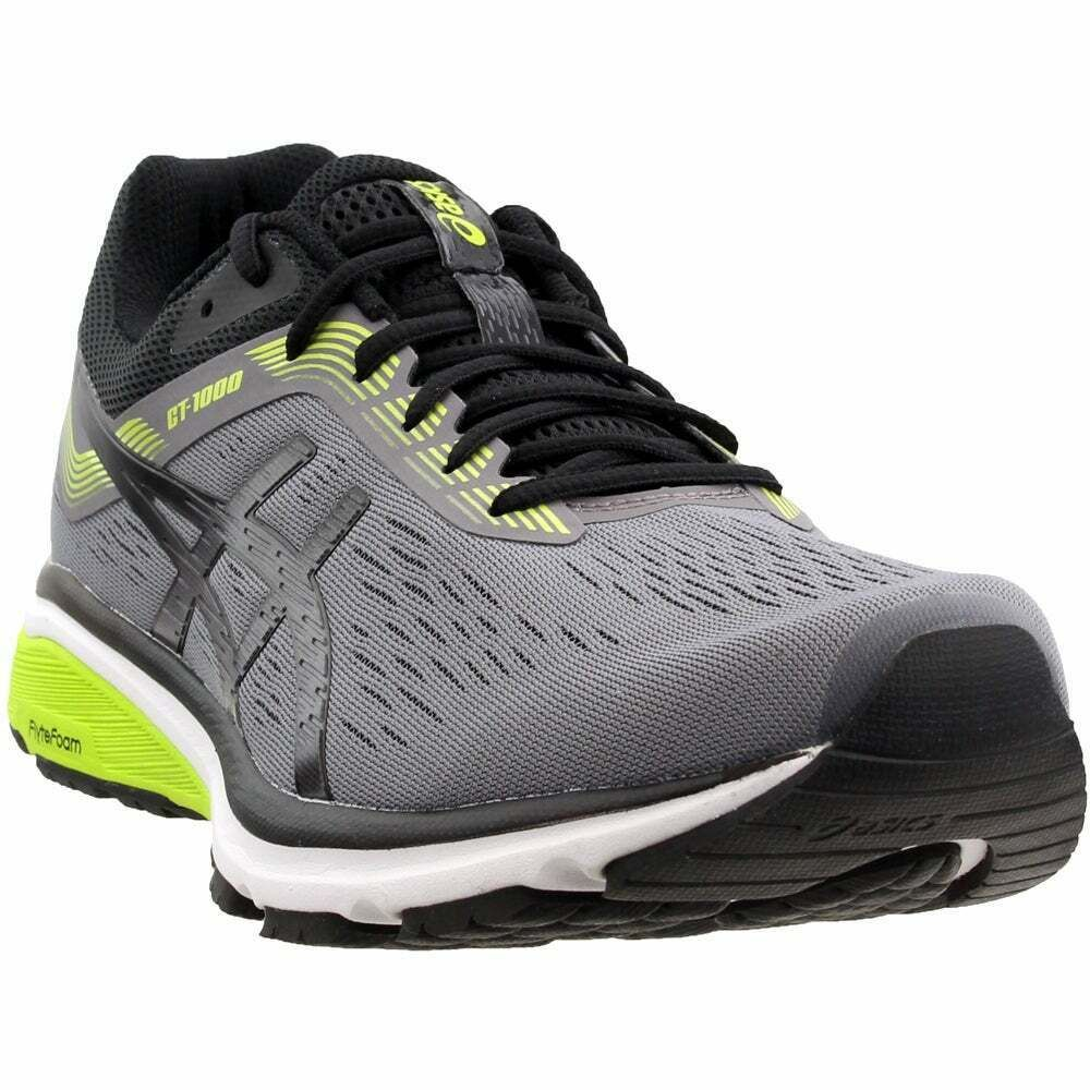 ASICS GT1000 7 Casual Running Shoes Black Mens Ideas of