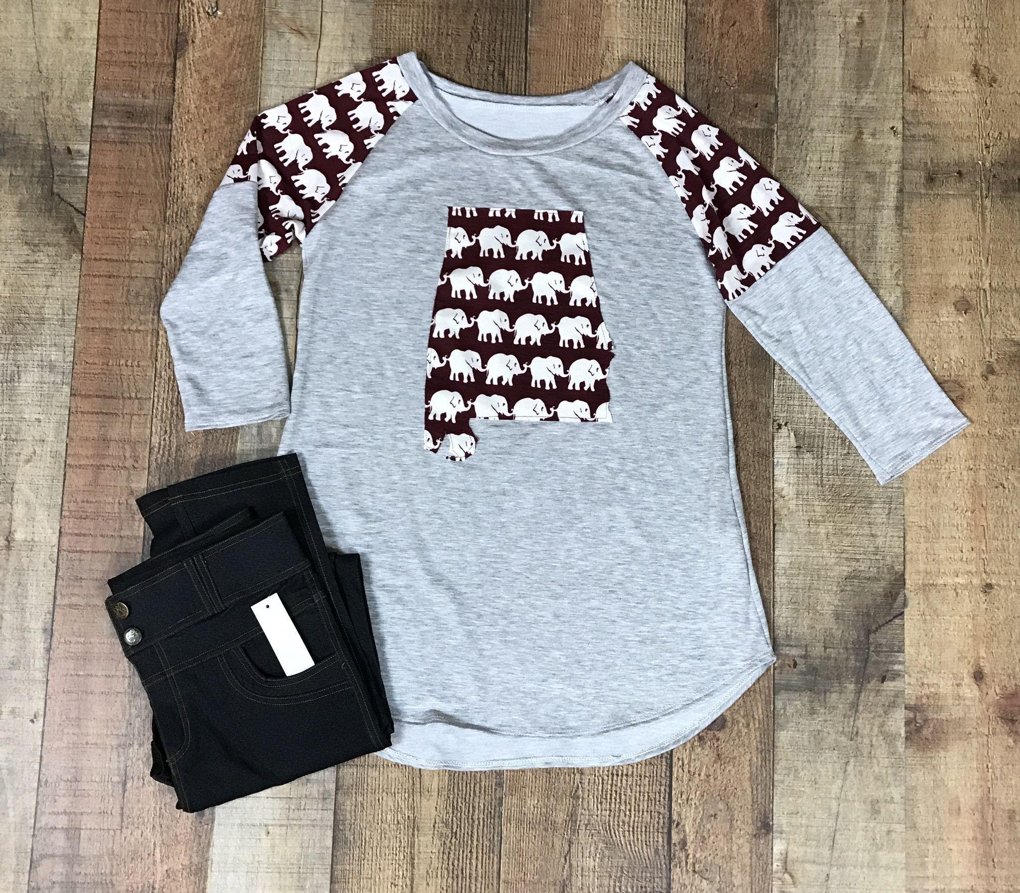 Alabama knit top