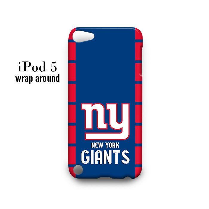 New York Giants iPod Touch 5 Case Wrap Around