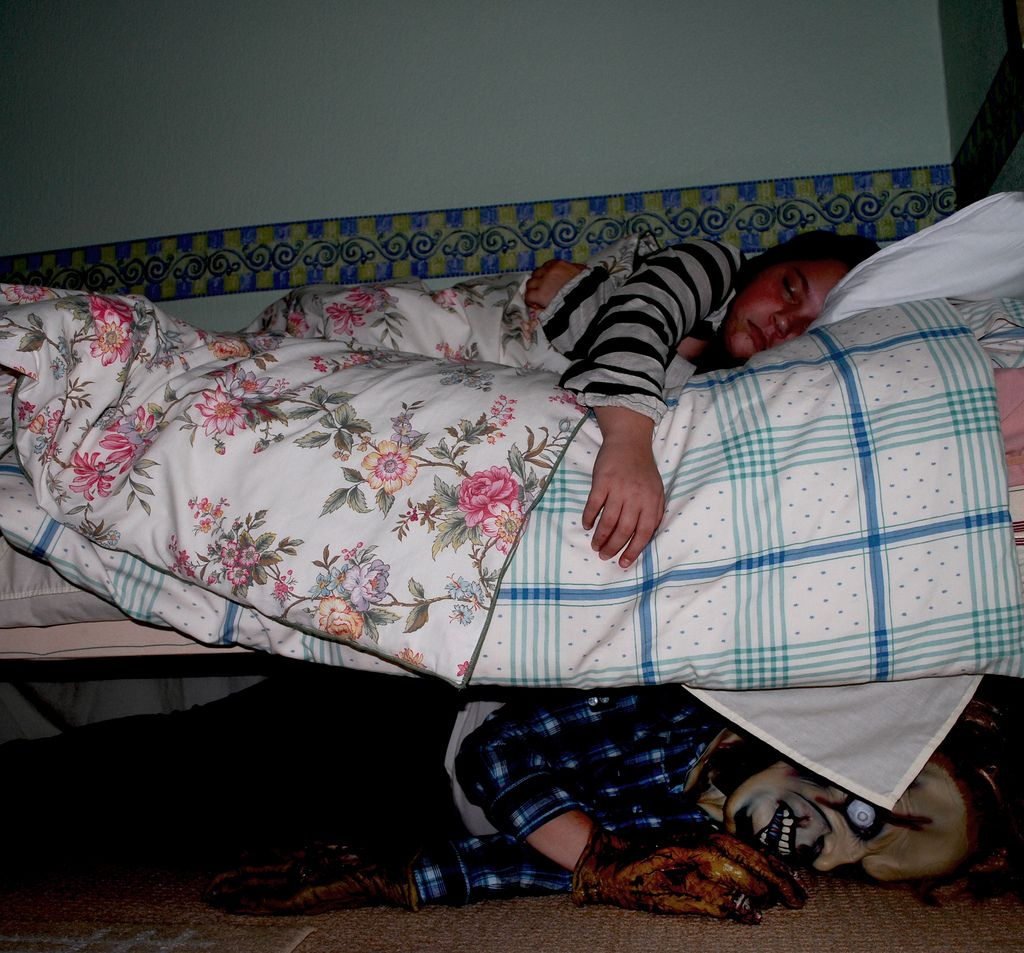 Clown Under Bed Picture Images Are The Monsters Hiding In The