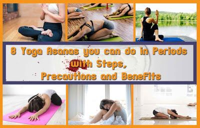 all fitness lovers 8 yoga asanas you can do in periods