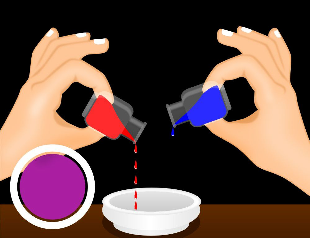 It's just a picture of Genius What Colors Make Purple With Food Coloring