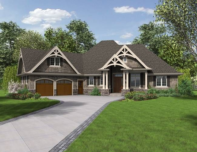 Mascord House Plan 1248 The Ripley Craftsman Style House Plans Craftsman House Plans Craftsman House