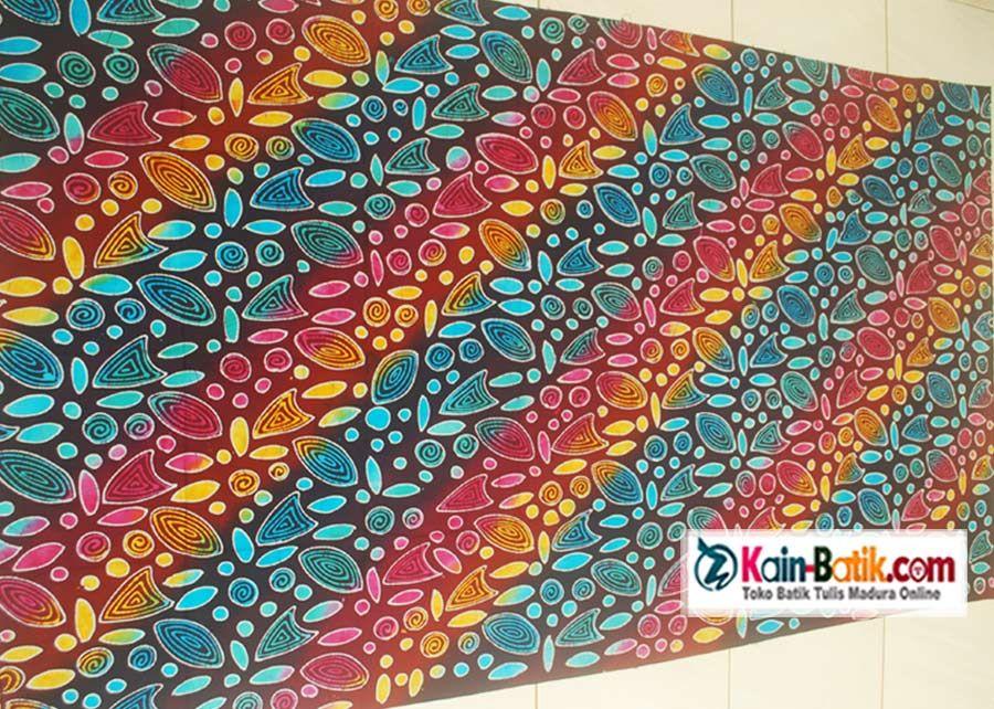 Gambar Motif Batik Warna Cerah - Batik Indonesia