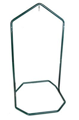 Hanging Chair Stand Silver Metal Kitchen Chairs Amazon Com Green Mountain Hammocks For Hammock Durable Strong Steel Construction