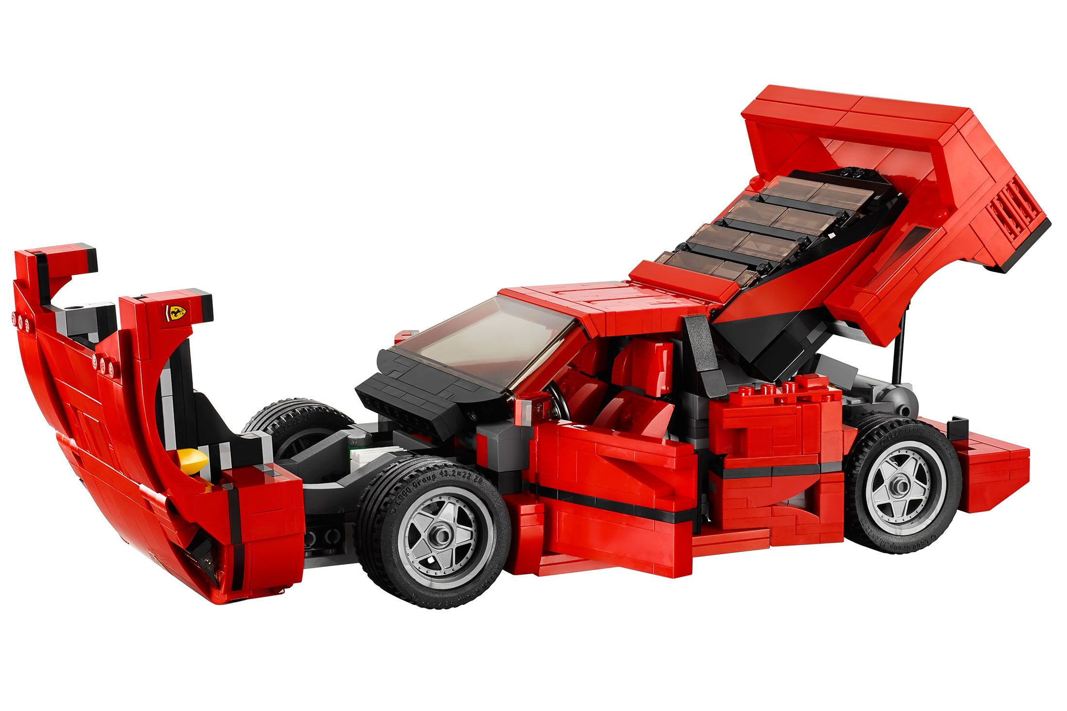 build your own ferrari f40 for only $90 | ferrari f40, legos and lego