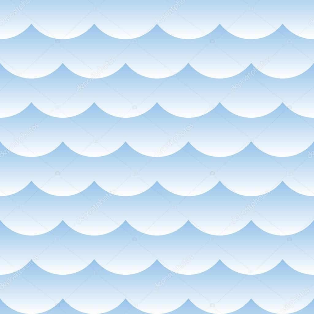Light Blue Shaded Cloudy Seamless Pattern Background Seamless