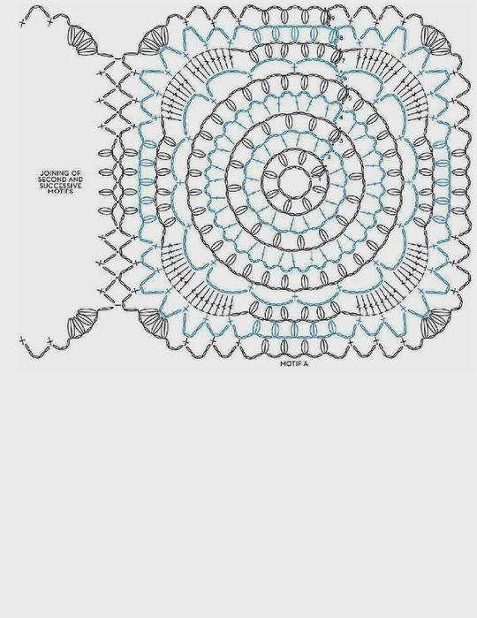 Capa-Torera Mariposa Crochet Patron - Patrones Crochet | Crochet ...