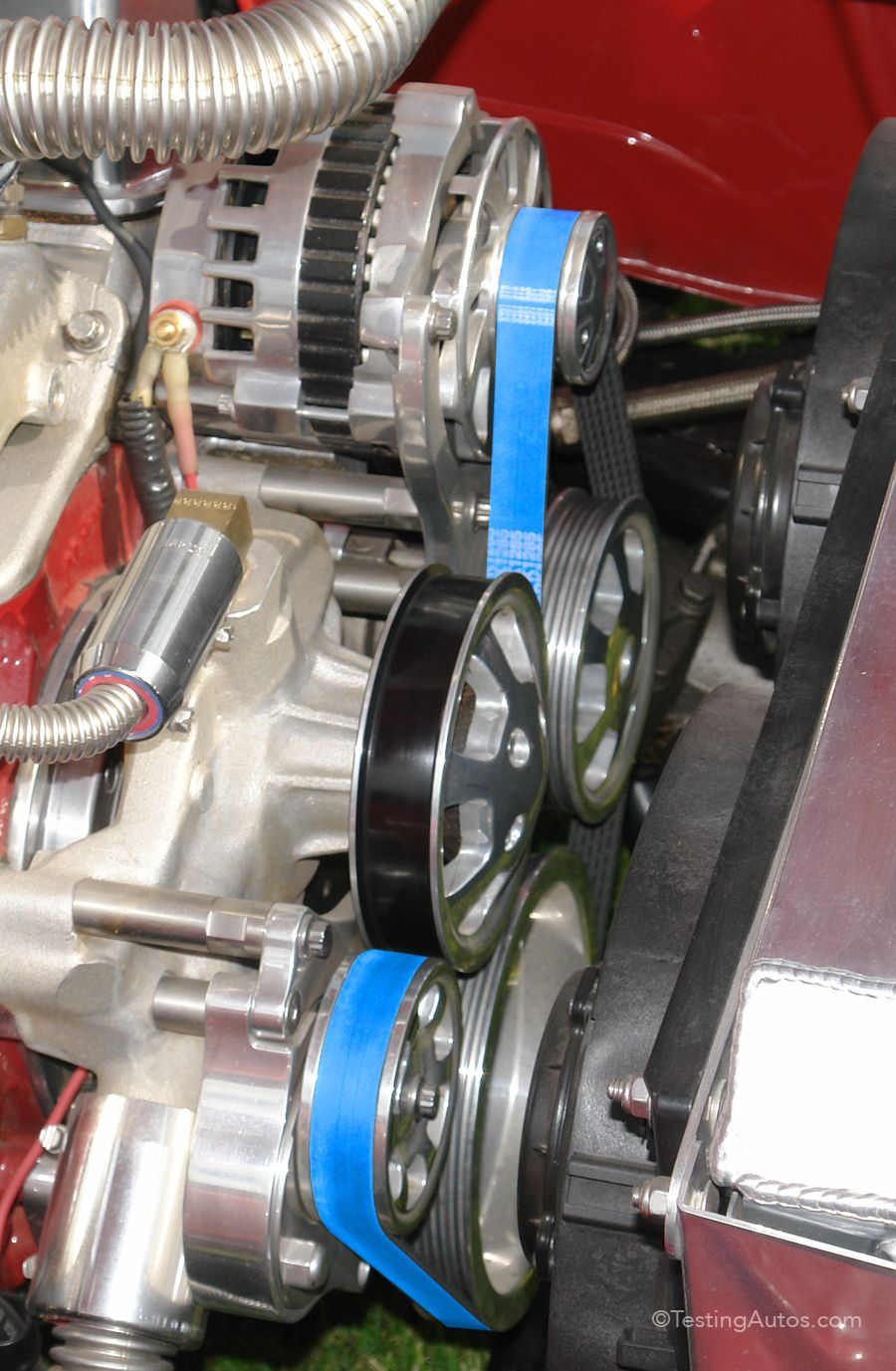 Does your drive belt need replacing? Car mechanic