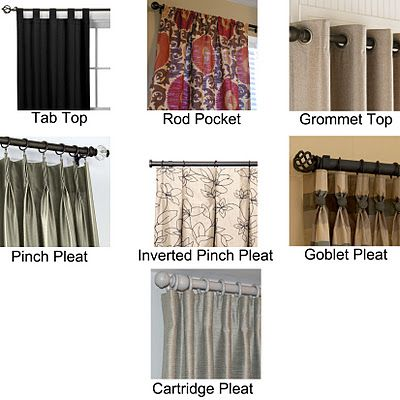 Custom Draperies The Whats And The Hows Curtains Types Of