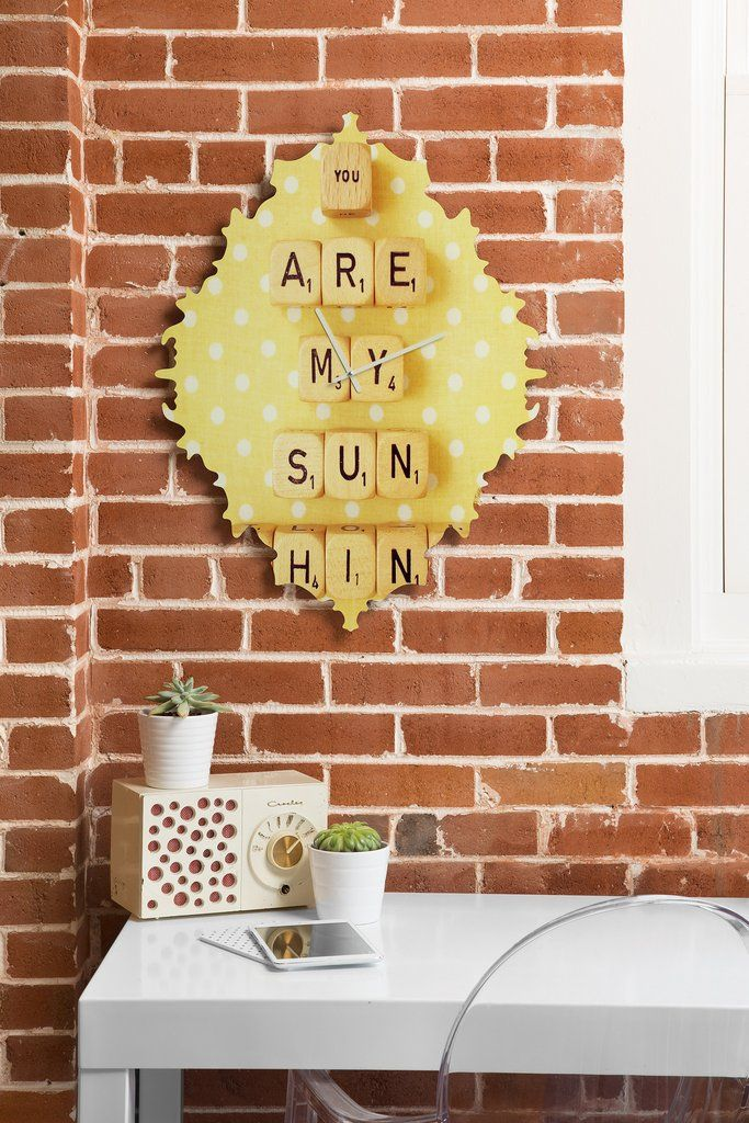 Happee Monkee You Are My Sunshine Baroque Clock | DENY Designs Home Accessories