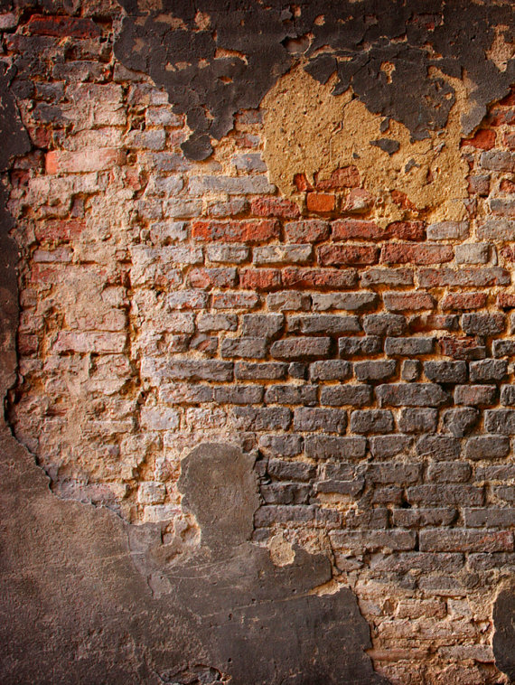 Backdrop Grunge Crumbling Brick Wall Background Photo Drop Photo Prop Material And Size Options Ava Brick Wall Backdrop Wall Backdrops Brick Wall Background