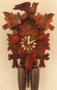 Sternreiter German Hand Carved Cuckoo Clock With Eight Day Movement Clocks German Cuckoo Clock 258 Cuckoo Clock Clock Vintage Clock
