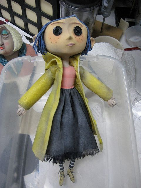 Coraline Doll Im So Lucky I Found This Whist In Tokyo Coraline Muneca Coraline Munecos De Arte