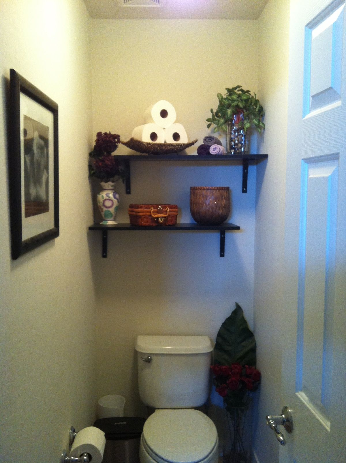 I did this to my bathroom. What do you think???