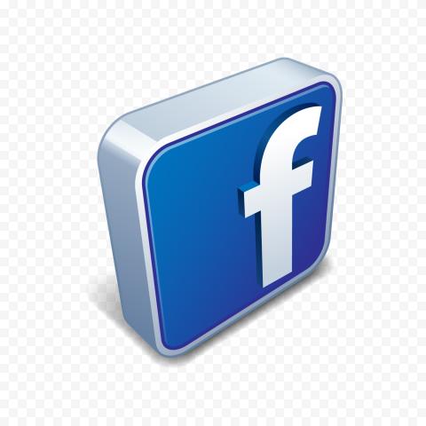 3d Square Facebook Fb Logo Icon Social Media Citypng Logo Icons Logos Icon