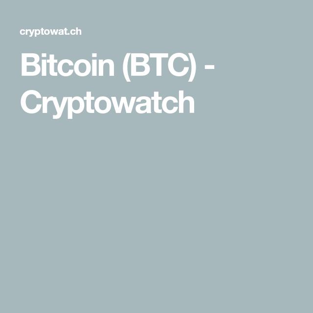 Bitcoin Btc Cryptowatch Bitcoin Social Activities Marketing Data