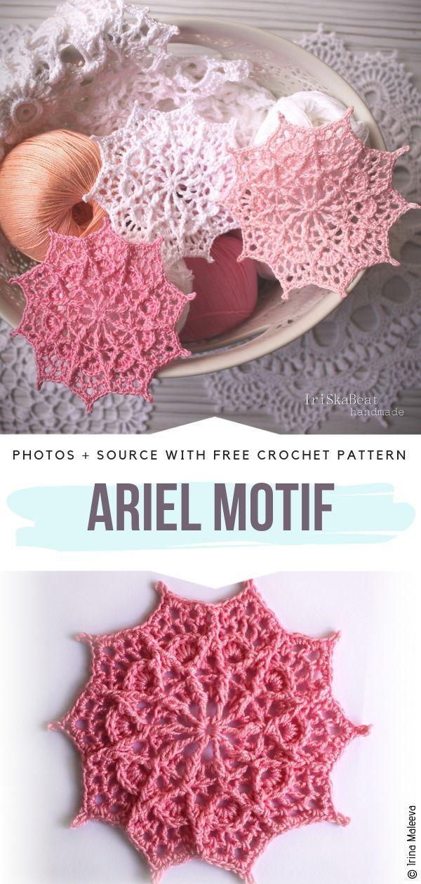 Stunning Doilies Free Crochet Patterns