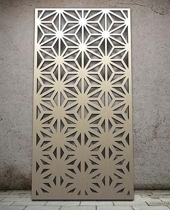 world miles and lincoln laser cut screens laser cut panels - Decorative Metal Screen