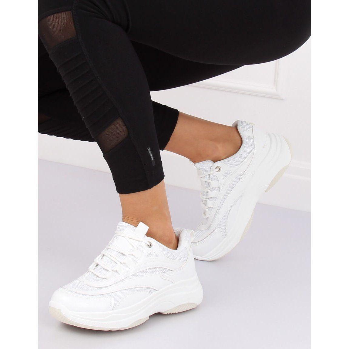 Buty Sportowe Damskie Biale B0 15 White Wedding Sneaker Shoes White Sneaker
