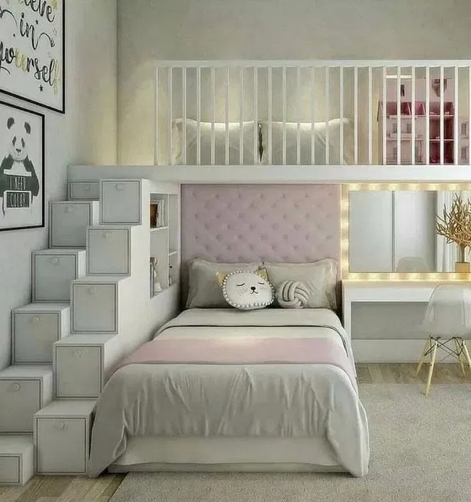 55 Small Bedroom Ideas That Are Look Stylishly Space Saving 20 Girl Bedroom Designs Girl Room Cute Bedroom Ideas