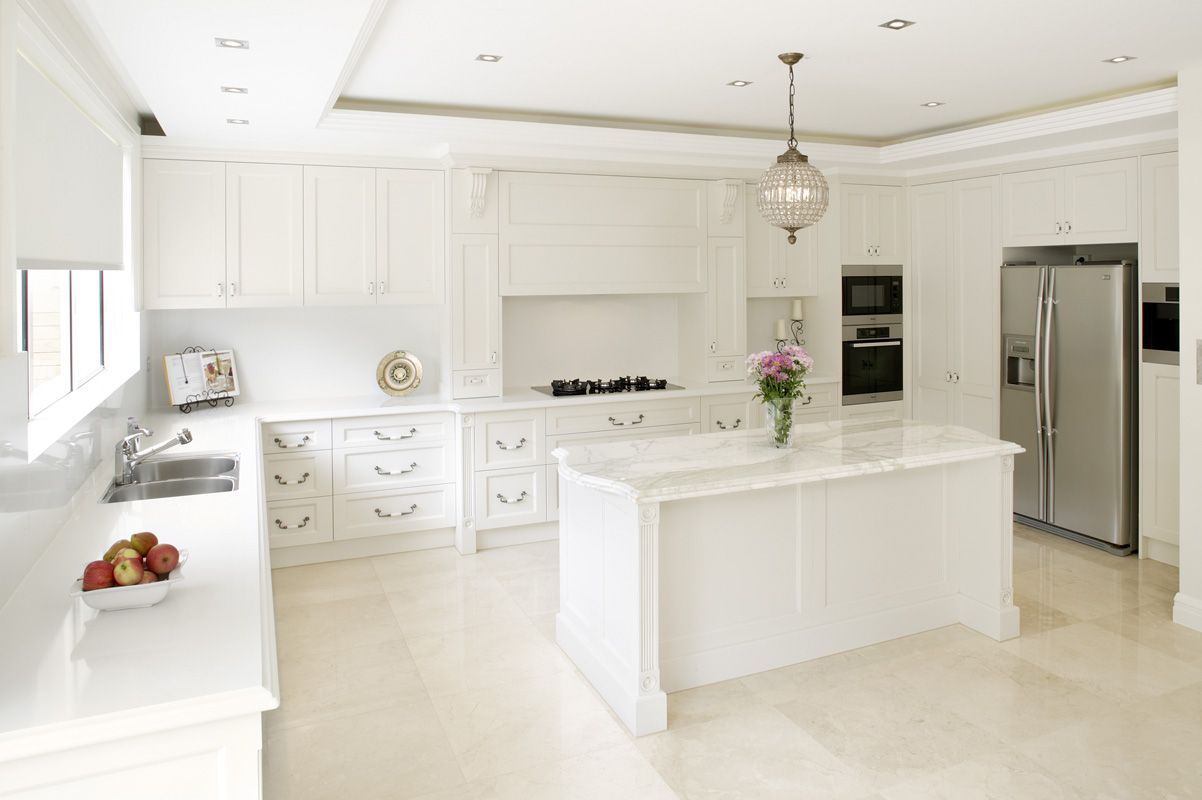 open plan french kitchen | French Provincial | Pinterest | French ...