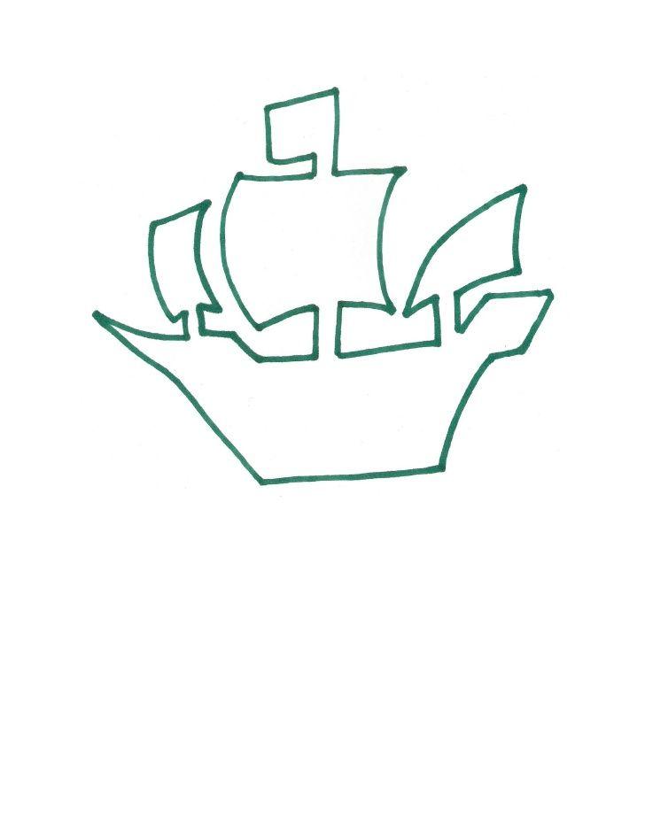Pirate Ship Template Pirate Template Pirate Favors Pirate Ship
