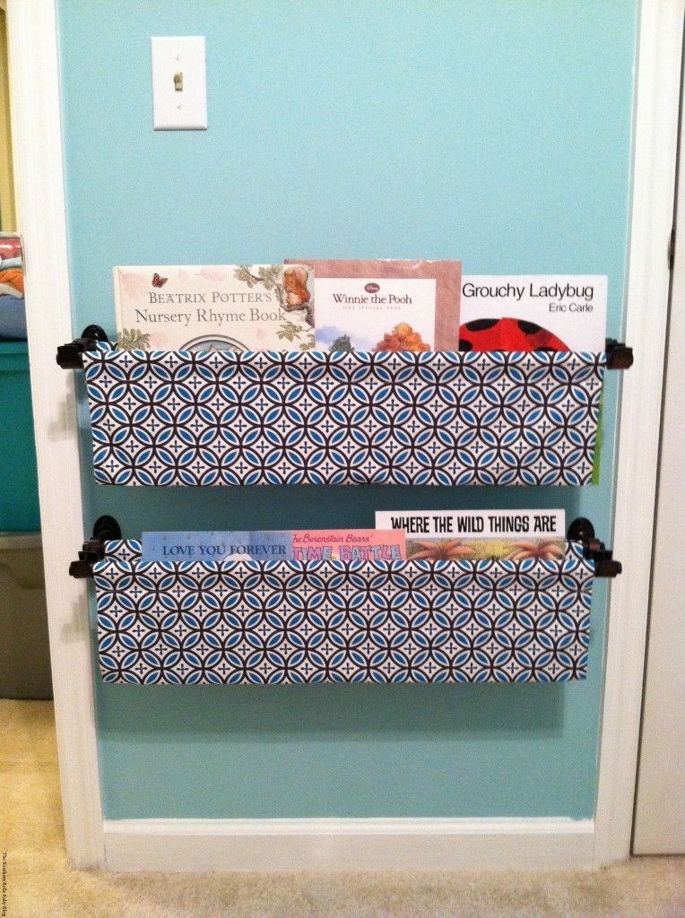 Cozy Creative Ways To Display Books In The Nursery Home
