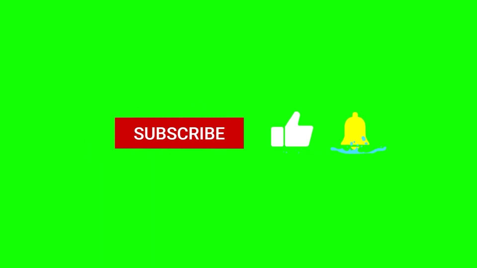 Green Screen Subscribe Button No Copyright Free Download