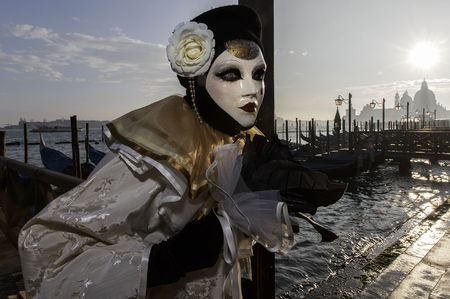 Eye of a mask Photo by Renato R. — National Geographic Your Shot