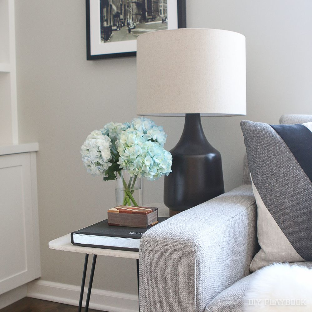 How to decorate a rental apartment to add personality hydrangea