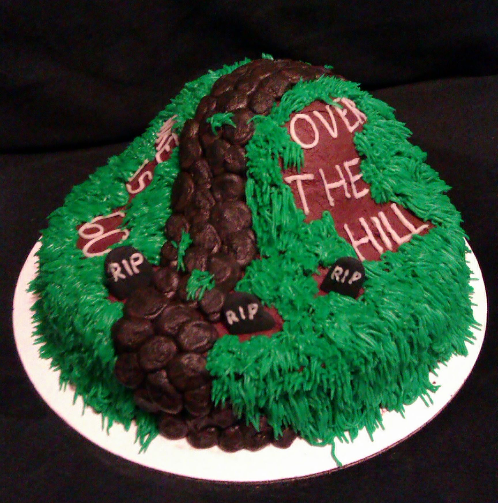 Astounding Over The Hill Cake Ideas For Men Pin Over The Hill 50Th Birthday Personalised Birthday Cards Vishlily Jamesorg