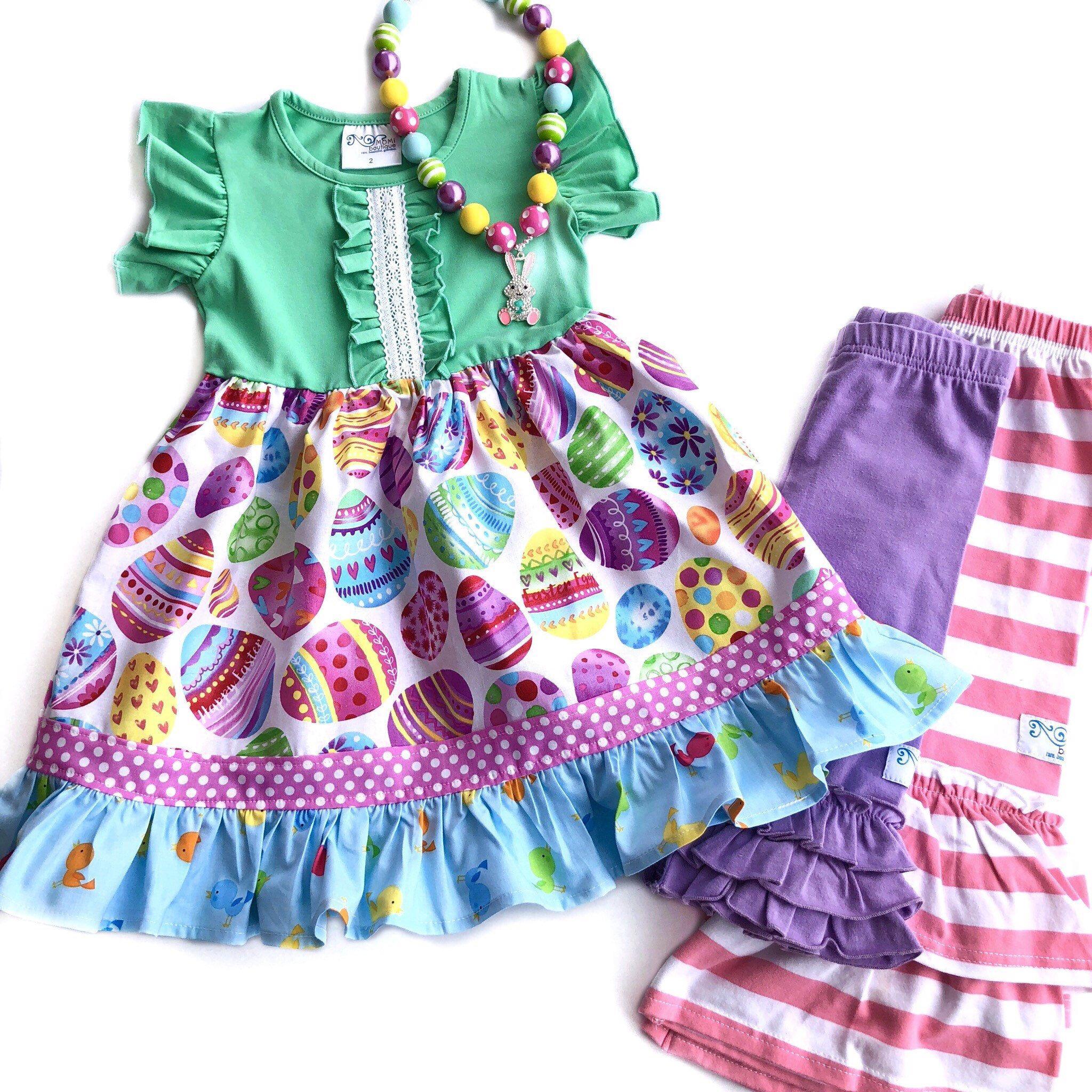 Girls Egg Hunt Dress Easter Dresses Toddler Easter Outfit Etsy Toddler Easter Outfits Easter Outfit Childrens Clothes