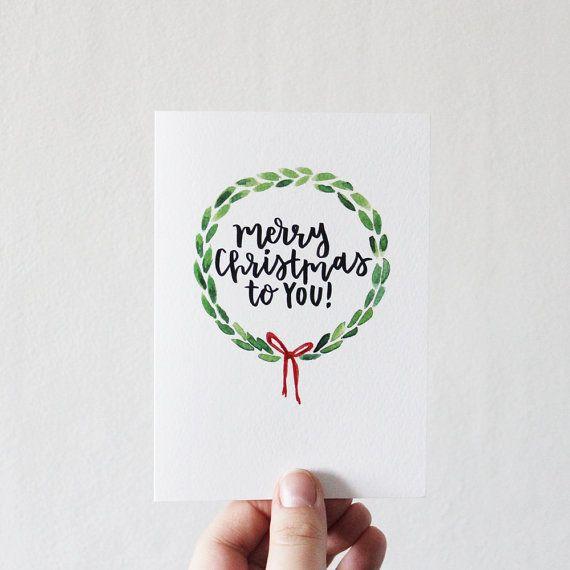 sale merry christmas christian christmas card hand drawn and hand