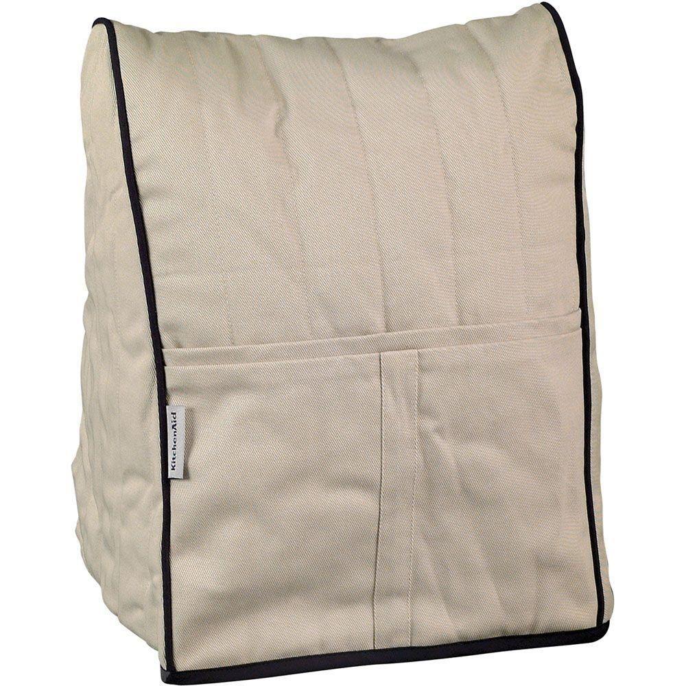 Kitchenaid khaki cotton cloth cover for kitchenaid stand